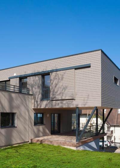 Plans de maisons cubiques