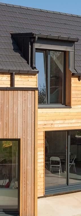 Maison ossature bois sur-mesure