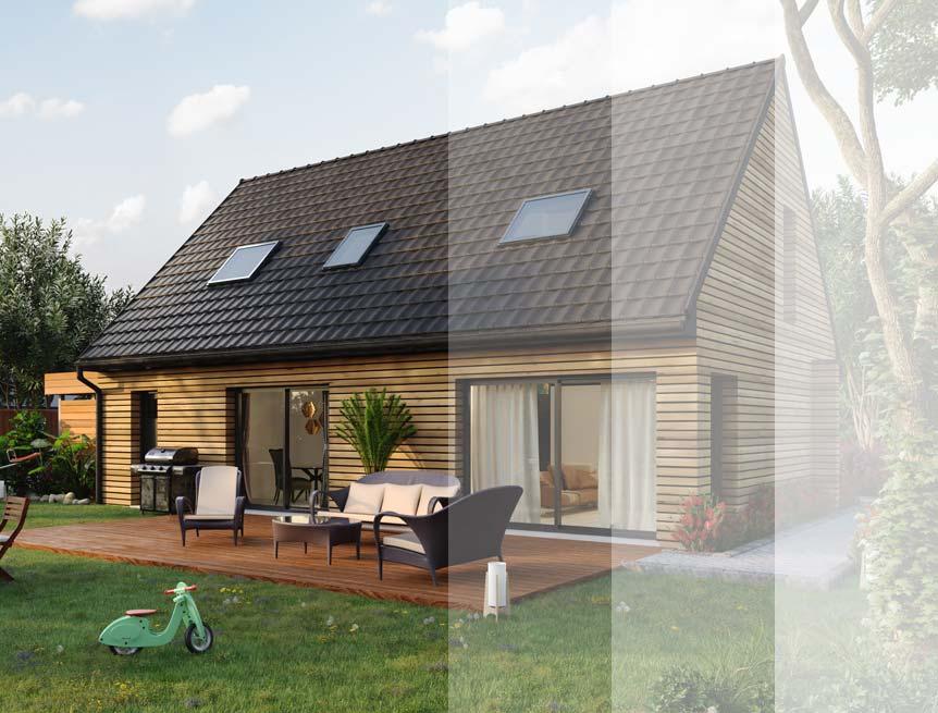 Modèles et plans de maison ossature bois à étage Ma Maison Construction Bois
