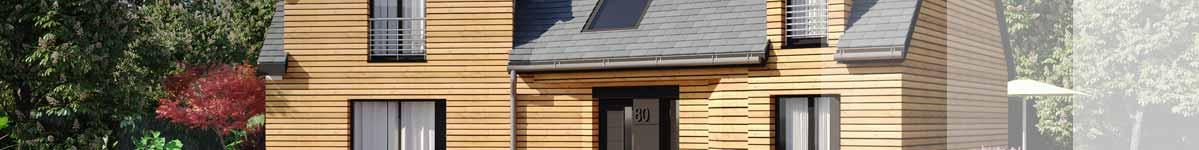 Modèles et plans de maison ossature bois traditionnelle Ma Maison Construction Bois