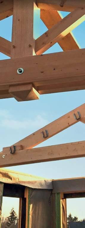 Démarrage des travaux de construction bois