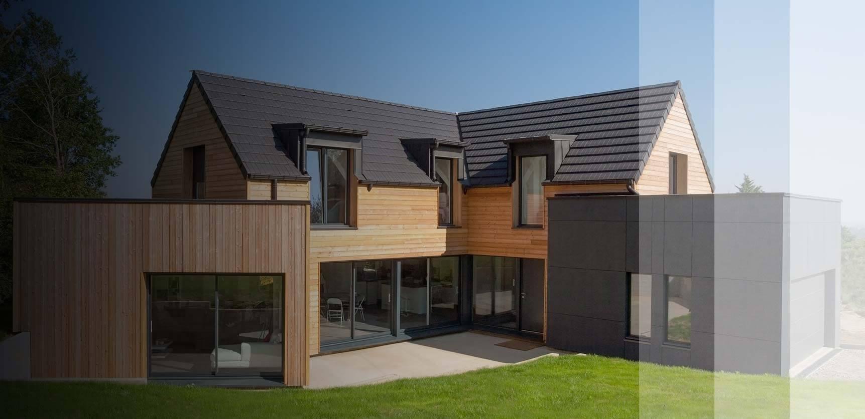 Votre maison ossature bois sur-mesure